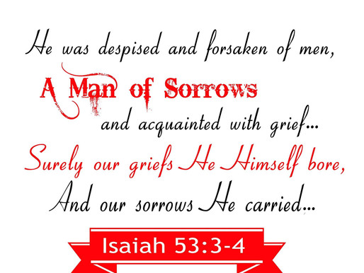 'THE MAN OF SORROWS'