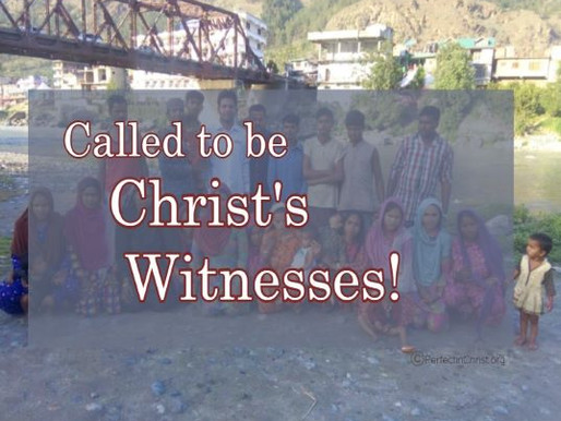 WE ARE HIS WITNESSES!