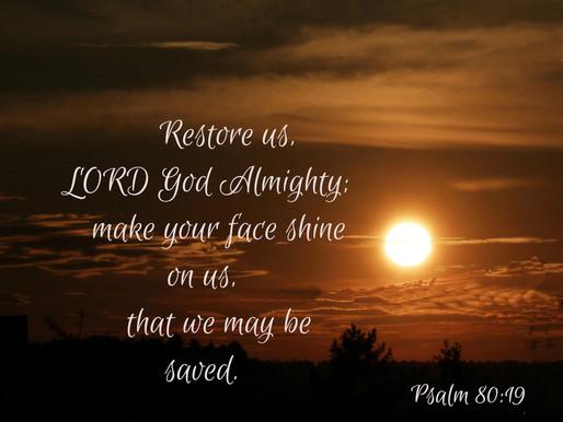A Prayer for Restoration