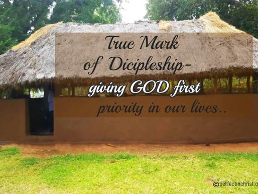 THE CALL TO RADICAL DISCIPLESHIP