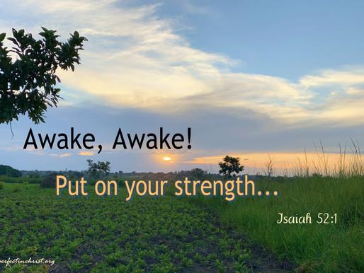 GOD's AWAKENING CALL