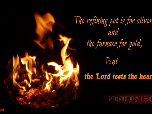 THE LORD TEST THE HEART