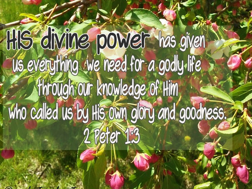 POWER FOR A GODLY LIFE