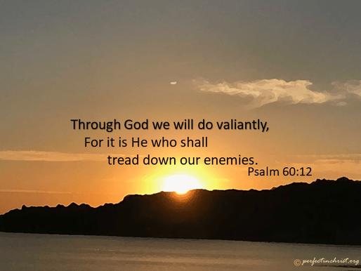 WITH GOD WE SHALL DO VALIANTLY!