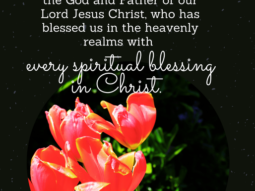 BLESSED IN CHRIST!