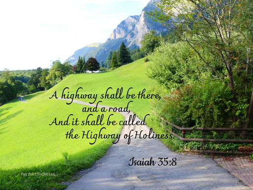 THE HIGHWAY OF HOLINESS