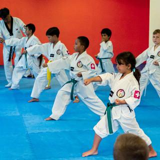 Entraînement Taekwondo Enfant