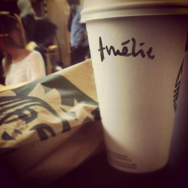 Starbucks + misspelled name? #instagramgold