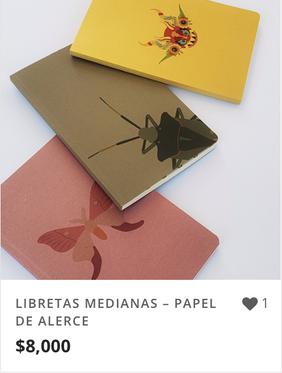 LIBRETAS MEDIANAS – PAPEL DE ALERCE