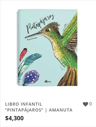 "LIBRO INFANTIL ""PINTAPÁJAROS"" | AMANUTA."