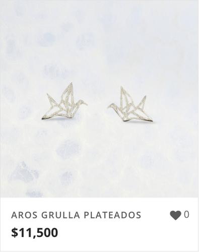 AROS GRULLA PLATEADOS