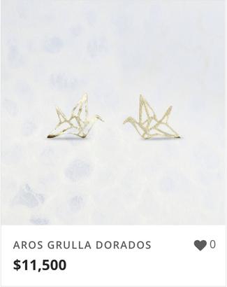 AROS GRULLA DORADOS