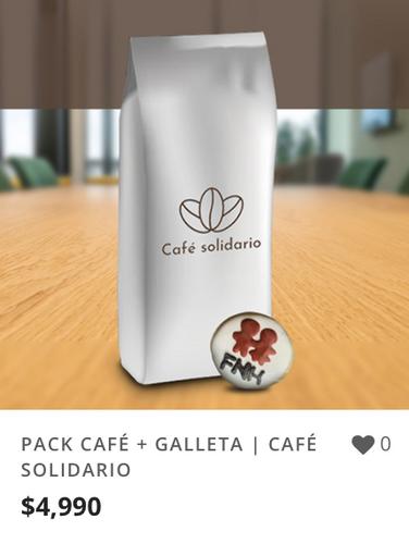 PACK CAFÉ + GALLETA | CAFÉ SOLIDARIO