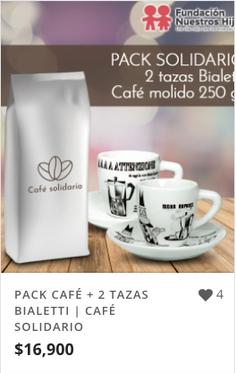 PACK CAFÉ + 2 TAZAS BIALETTI | CAFÉ SOLI