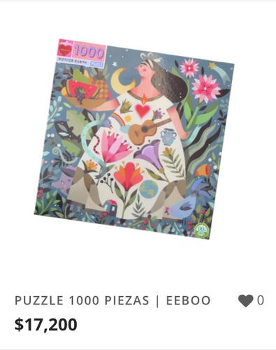 PUZZLE 1000 PIEZAS | EEBOO