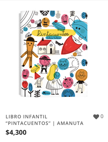 "LIBRO INFANTIL ""PINTACUENTOS"" | AMANUTA."