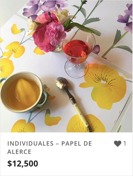 INDIVIDUALES – PAPEL DE ALERCE