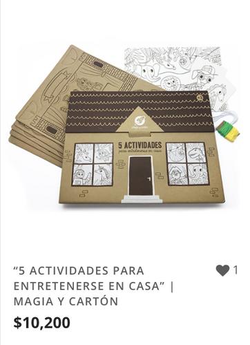 """""""5 ACTIVIDADES PARA ENTRETENERSE EN CASA"""