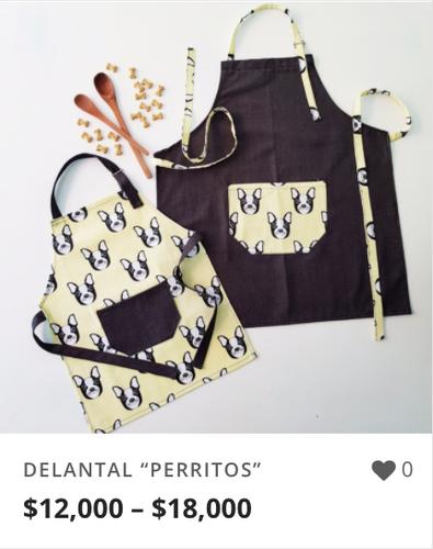 "DELANTAL ""PERRITOS"""