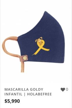 MASCARILLA GOLDY INFANTIL