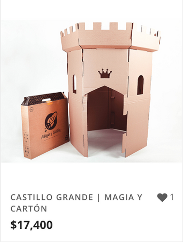 CASTILLO GRANDE | MAGIA Y CARTÓN