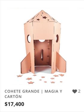 COHETE GRANDE | MAGIA Y CARTÓN