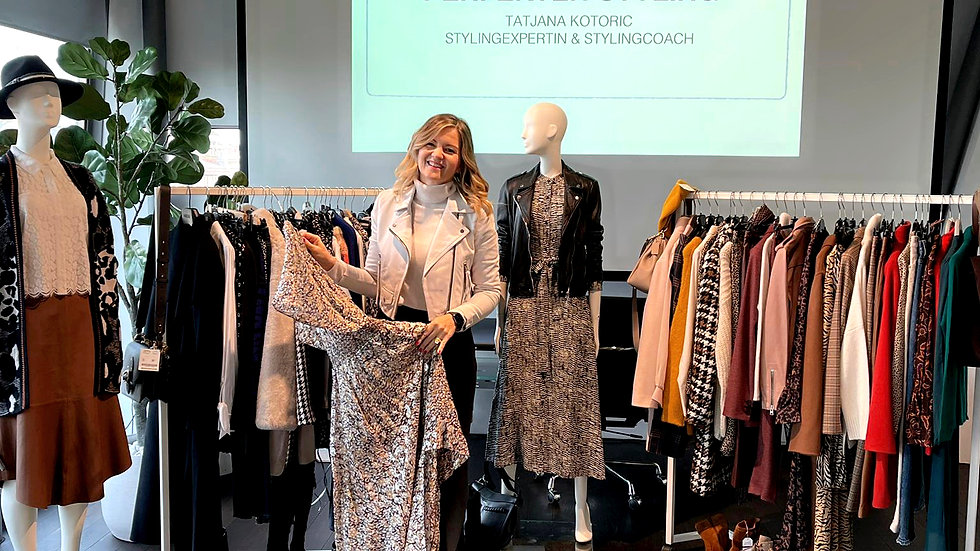 WORKSHOP: IN NEUN SCHRITTEN ZUM PERFEKTEN STYLING - 10. April