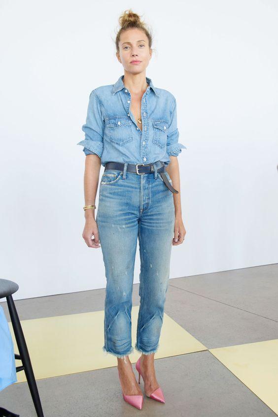 Jeans mit Jeans