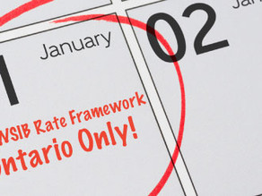 The New WSIB Rate Framework (For Ontario Only)