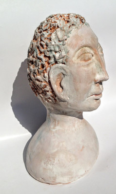 Sytlized bust side view