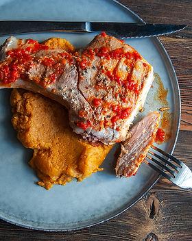 Pork loin with adjika sauce.5.jpg