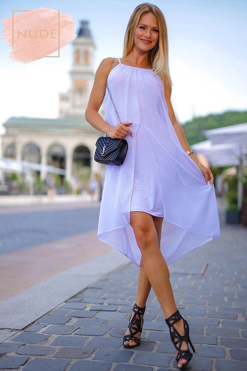 Vzdušné šaty The sea Biela