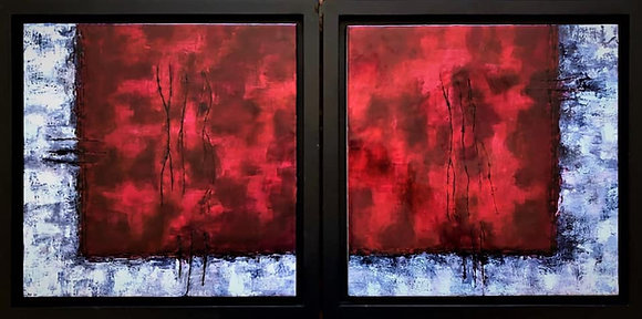 Red Window III & IV