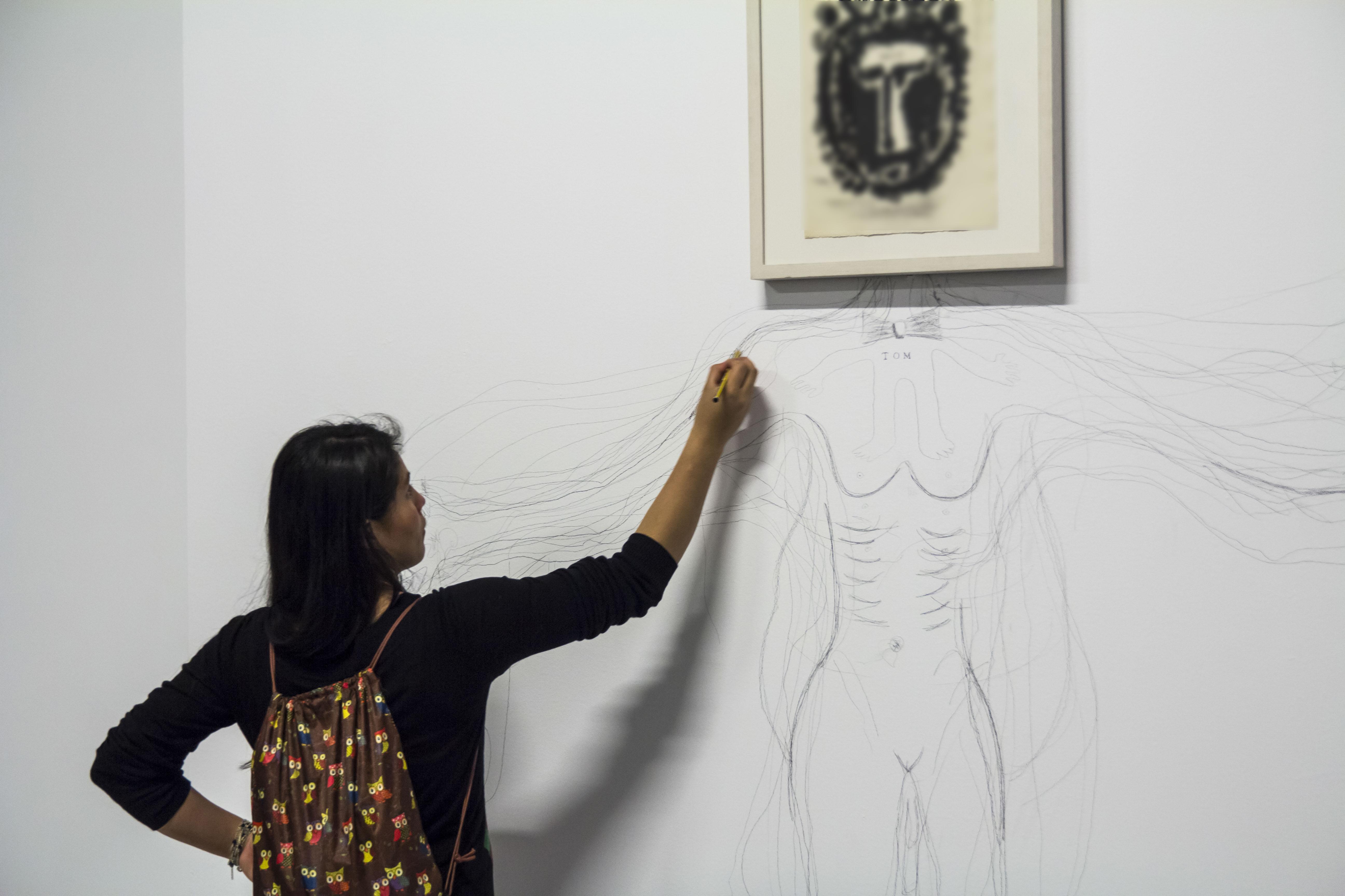 Mena, Jaime. 2015. Picasso-Tàpies 1.
