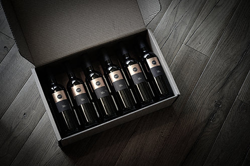 Box of 12 TERRA bottles / y 2018