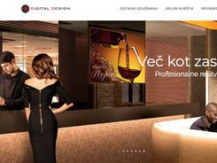 spletna stran Digital Design