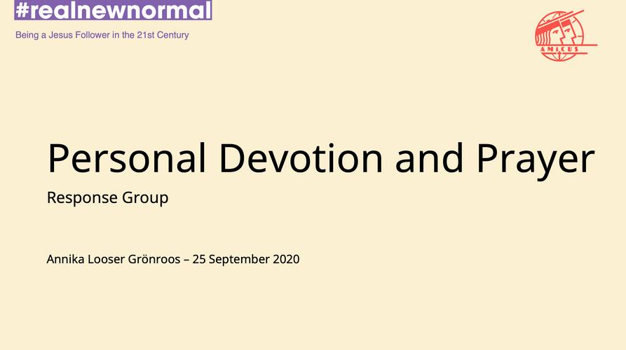 Personal devotion #realnewnormal.png