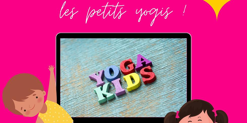 Cours de Yoga pour enfants en ligne !