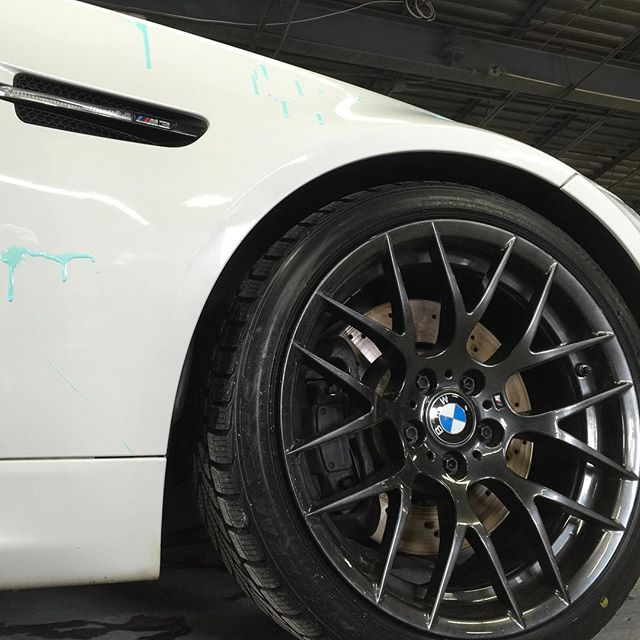 Blue Gloss on the Bimmer #m3 #bimmer #bmw #franmar #statenisland #statenislandferry #nypd #fdny #sin