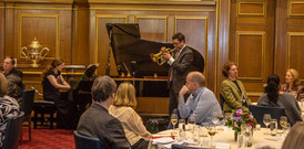 """Performing """"Unto the Rainbow"""" with Brant Tilds at Clothworkers' Hall, London"""