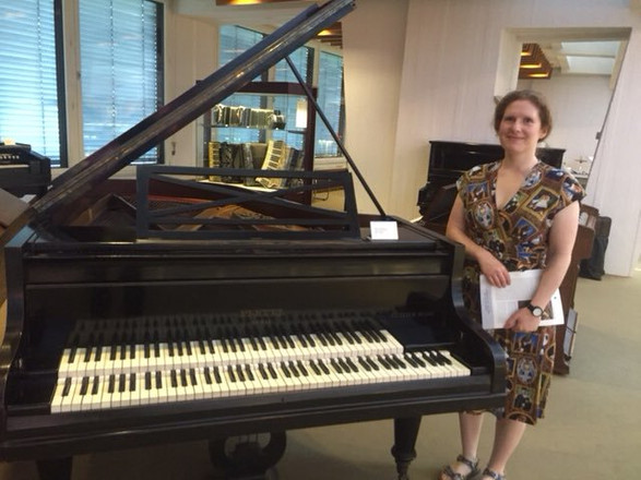 At the Musical Instrument Museum, Berlin, in August 2018