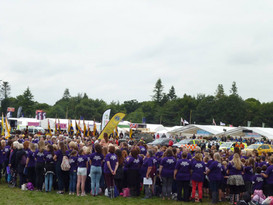 'Showstoppers: Choir of Thousand' giving the World Premiere of 'Things Grow' at The Royal Norfolk Show