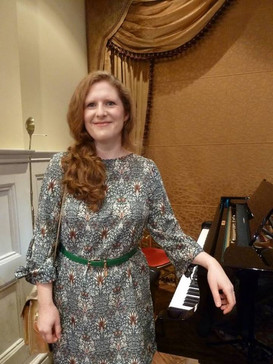 At the 1901 Arts Club, London, during Ian Mitchell's CD launch, and a performance of 'How to Win an Election', September 2018