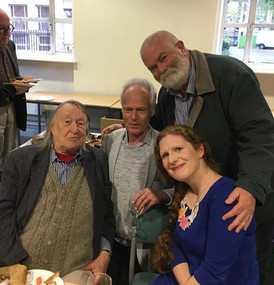 At Gordon Crosse's 80th Birthday Celebration Concert (with Gordon, Robin Holloway and Rob Keeley), Manchester University, October 2017