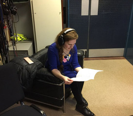 Recording with the BBC Singers and conductor Katie Thomas, Maida Vale, February 2018