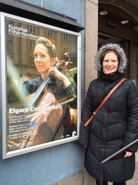 In Stockholm for a performance of 'The Forgiveness Machine', February 2016