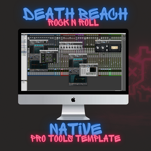 Rock Template (Native Plug-Ins) by Death Beach