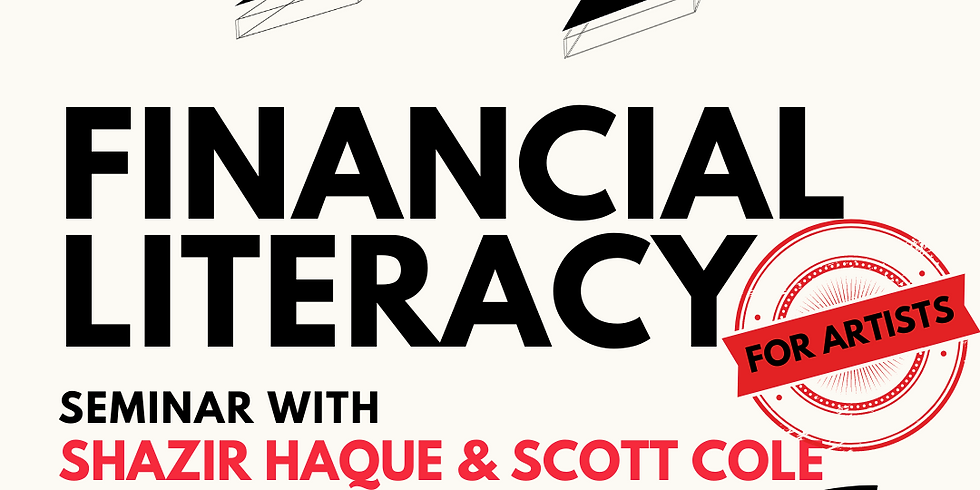 Financial Literacy for Artists #2