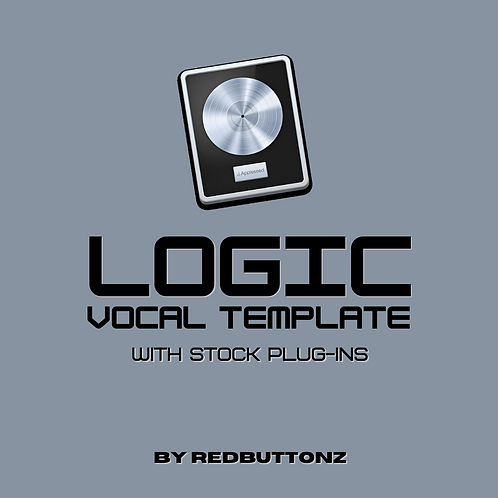 Logic Recording Template (with stock plug-ins)