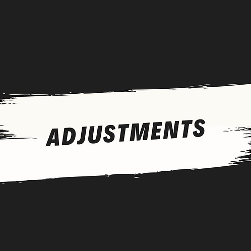 adjustments (acapella)